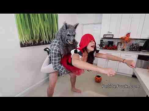 Lobo Mal Comendo Chapeuzinho Vermelho